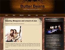 Tablet Preview of butterbeans.nl